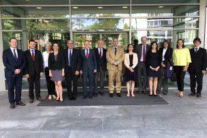 délégation de l'Arafer et de la BNetzA