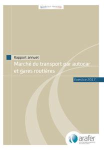 Troisième rapport annuel sur le transport routier de voyageurs en France – Bilan 2017