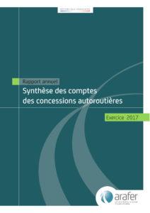 Publication de la synthèse des comptes des sociétés concessionnaires d'autoroutes pour l'exercice 2017