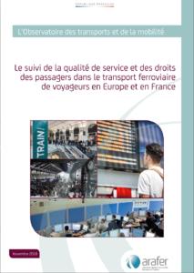 L'Arafer publie une étude sur l'enjeu d'un système de suivi de la qualité de service plus harmonisé