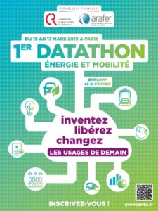 1er datathon de l'Arafer et de la CRE du 15 au 17 mars 2019 à Paris : les défis et le programme détaillés