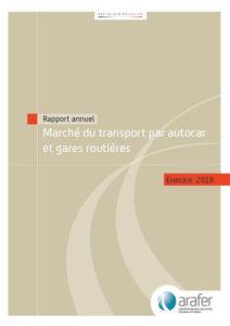 Publication du rapport annuel sur le marché du transport routier de voyageurs pour l'exercice 2018