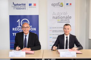 Ouverture à la concurrence : l'Autorité de régulation des transports et l'Établissement public de sécurité ferroviaire renforcent leur coopération