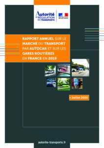 L'Autorité de régulation des transports publie son rapport sur le marché des cars Macron pour l'exercice 2019