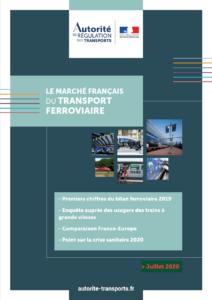 L'Autorité de régulation des transports publie les premiers indicateurs du marché du transport ferroviaire en 2019