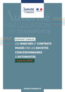 L'Autorité de régulation des transports publie son rapport sur les marchés et les contrats passés par les sociétés concessionnaires d'autoroutes en 2019