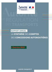 L'Autorité de régulation des transports publie la synthèse des comptes des concessions autoroutières pour l'année 2019