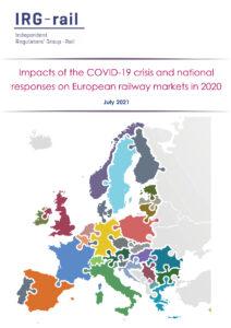 Le marché ferroviaire de voyageurs fortement impacté en France et en Europe en 2020